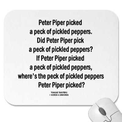 Alliteration Examples Peter Piper | www.pixshark.com ...
