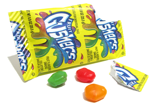 gushers candies
