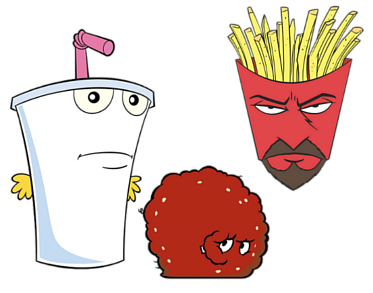 aqua teen hungerforce coloring pages-#45
