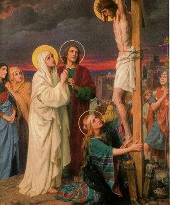 holy mary jesus cross - photo #7