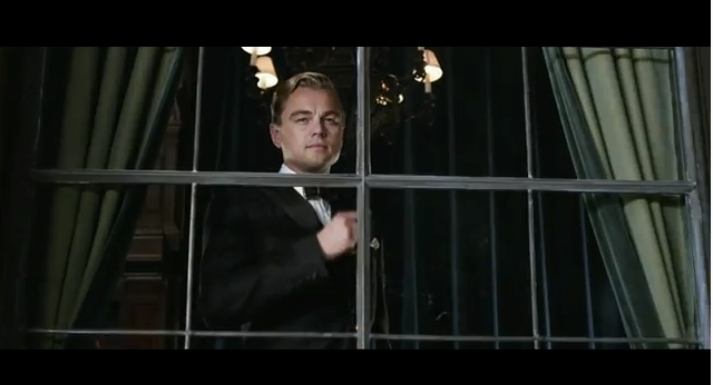 Like to speak to you alone quot the great gatsby trailer 1 meaning