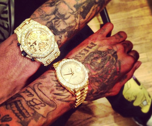 30k for watches – Different Cloth by Wiz Khalifa