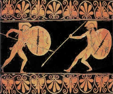 Describe Achilles' main characteristics in Homer's Iliad?