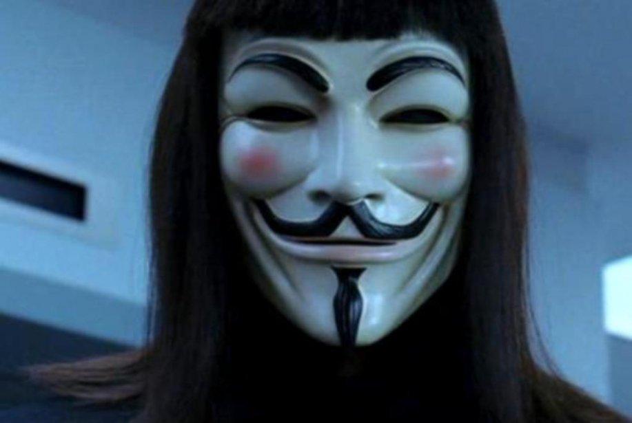 V For Vendetta Mask Stencil Some of the early DC V masks