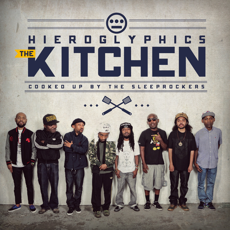 Download gratuito di brani strumentali Golden (The Kitchen) di Hieroglyphics mp3 320kbps (2013)