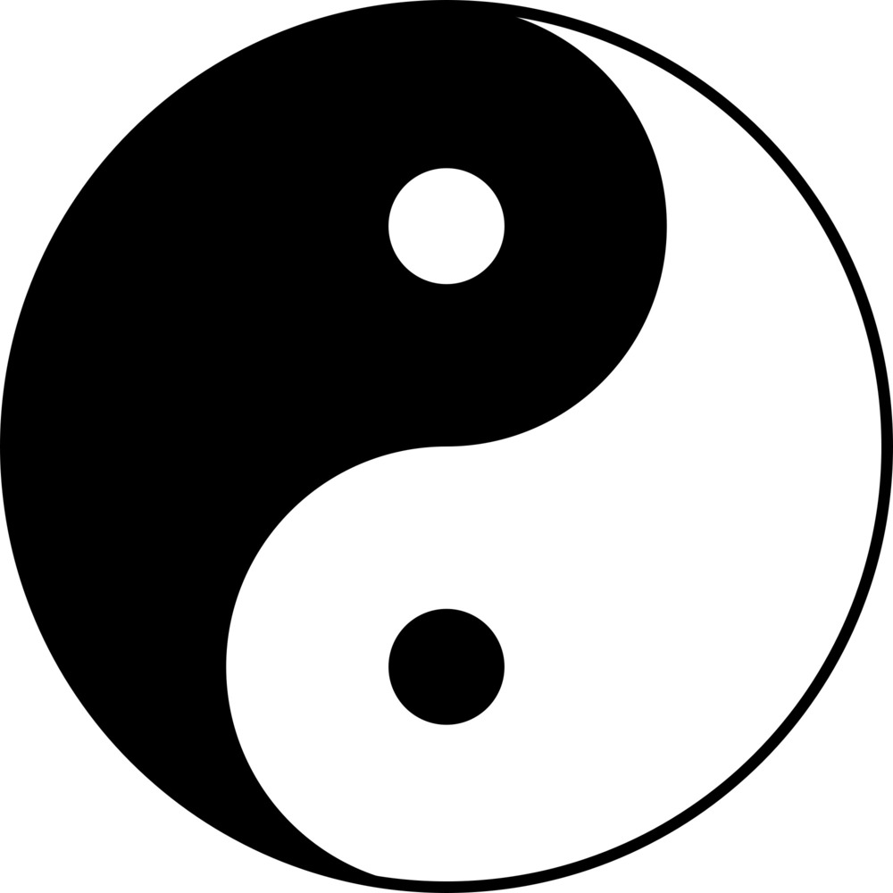 Greatperhaps black and white genius for Lit yin yang