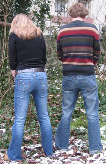 How females could stand and piss