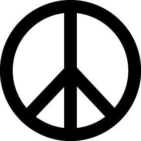 Mercedes symbol vs peace symbol