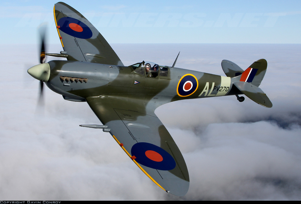 World War 2 Planes British