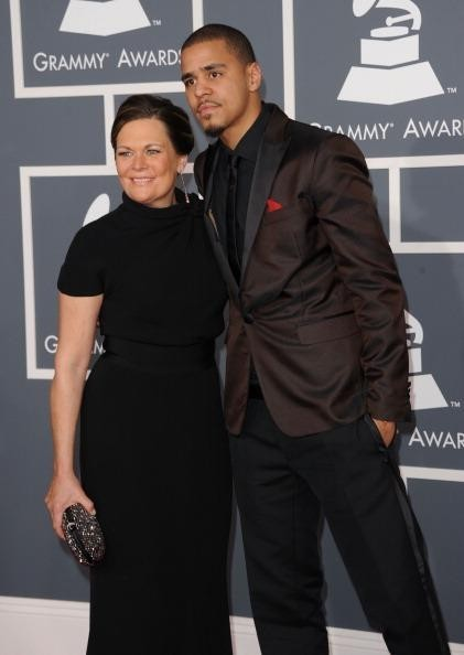 J Cole Family his family and friends