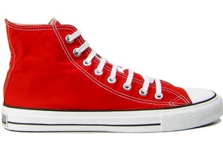 high top converse red