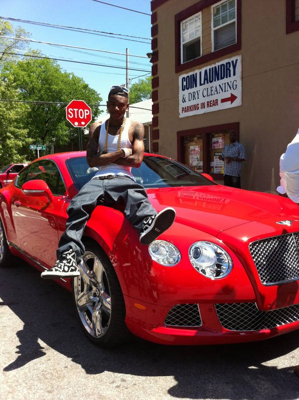 Gucci mane red cars