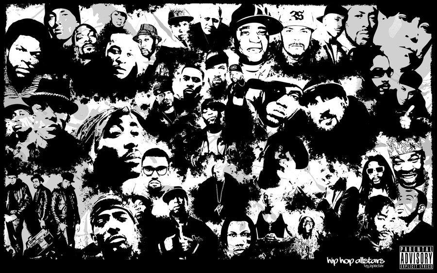 Hip hop art genius