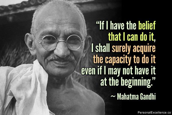 Gandhi Quotes: Kafka's Web: July 2014