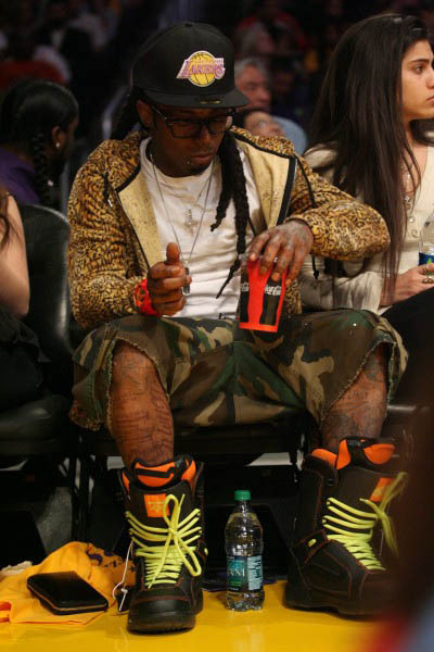 But He Got Them Snowboard Boots Tho