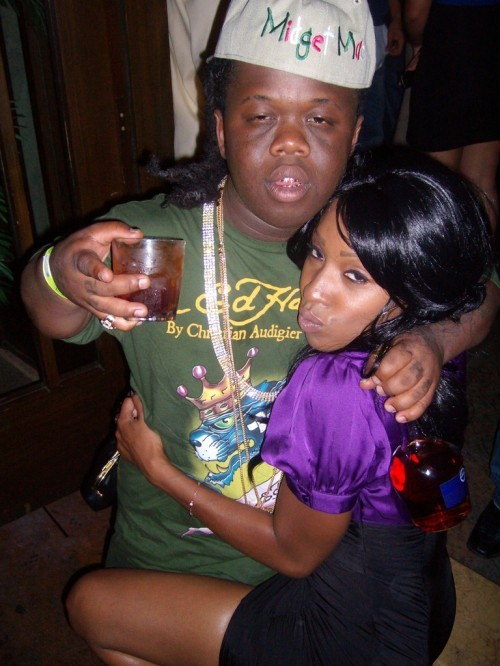 Black male midget