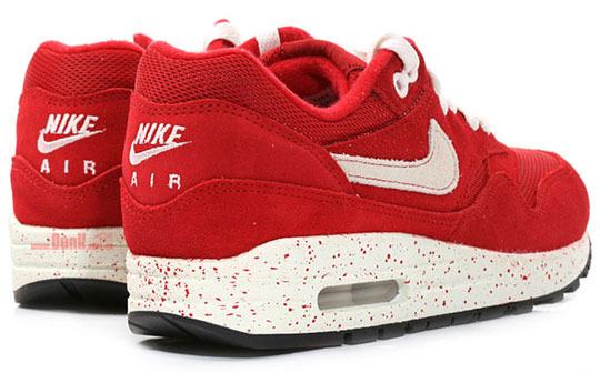 air max 1 blancas y rojas