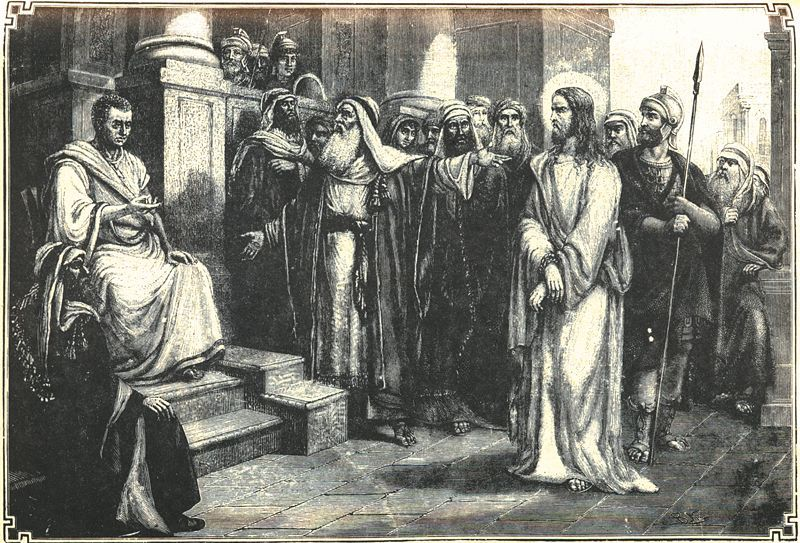sentenced to death pontius pilate essay My lord, my god and my lord, whom pilate for envy delivered, condemned, and   pontius pilate, therefore, by the command of cæsar, is taken and brought.