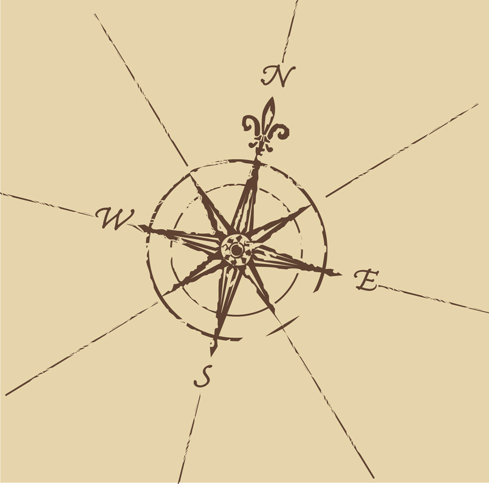 Compass Rose Map About...