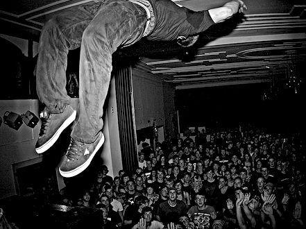stage diving bedeutung