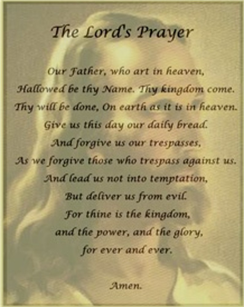 Dissertation odonnell on the lords prayer