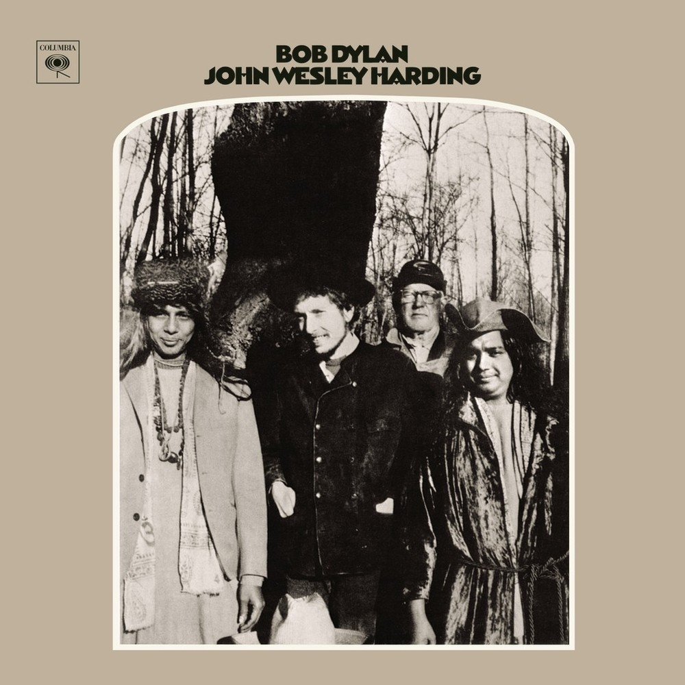 Image result for Bob Dylan – John Wesley Harding album cover