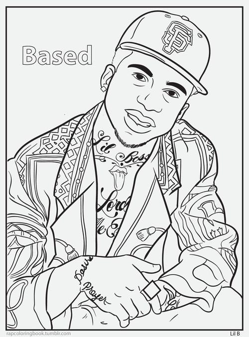 Rap coloring book genius Coloring book genius