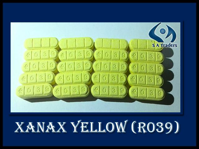 yellow pill xanax
