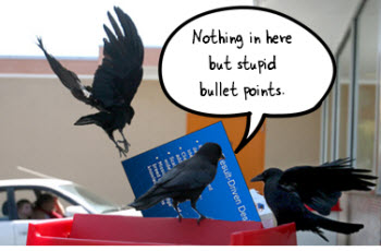 The Rapid E-Learning Blog - think like a crow