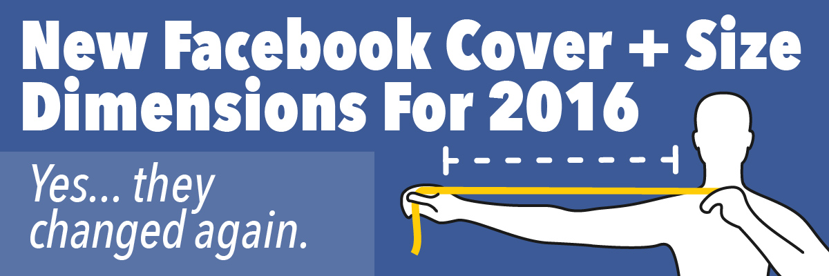 New facebook cover size dimensions for 2016 cover image
