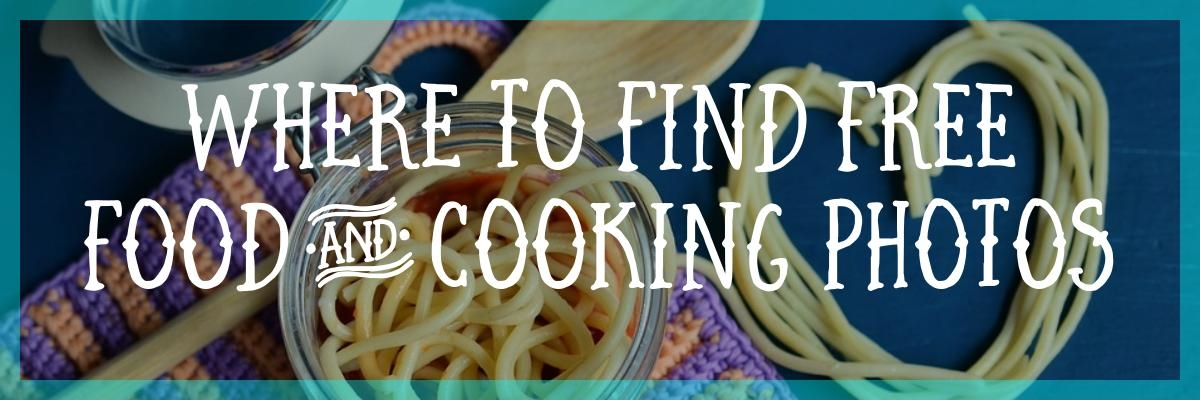Where to find free cooking food photos cover image