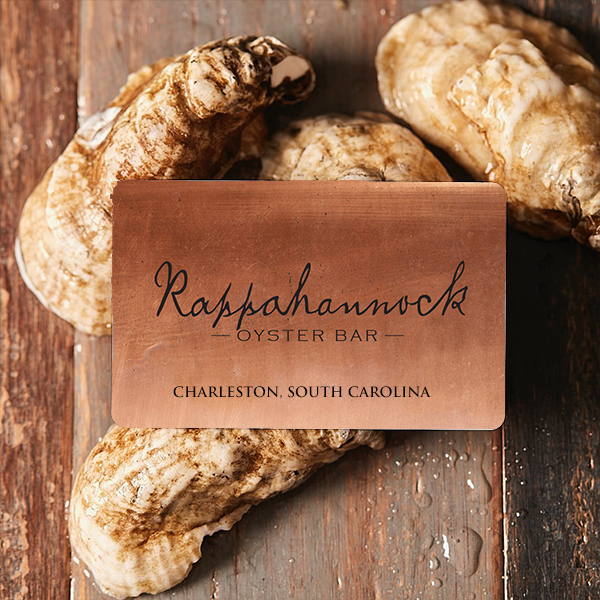 Rappahannock Oyster Bar Gift Card (Charleston, SC)