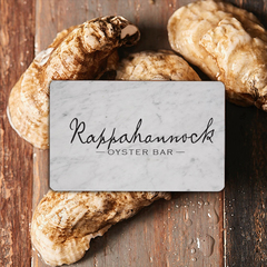 Rappahannock Oyster Bar Gift Card (Los Angeles, CA)