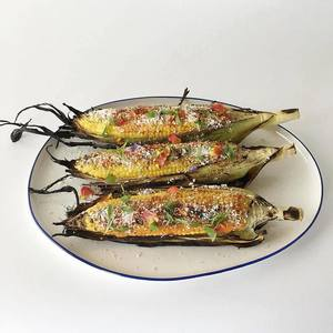 Grilled mexi corn