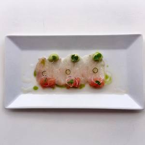Rockfish crudo