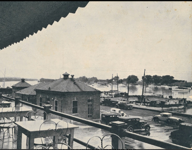 View from herzog's restaurant c. 1938.2