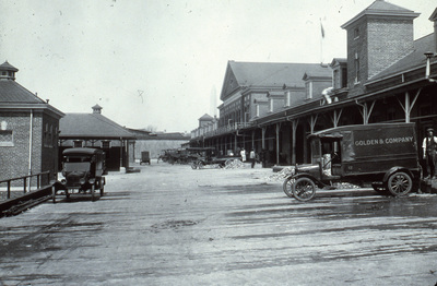 1918 1930 image of municipal fish market gc 1275 hsw