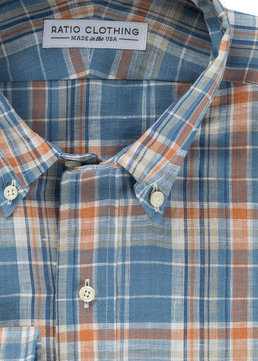 Wallis Plaid Linen