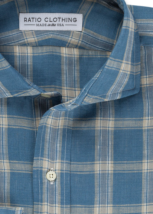 Clipperton Plaid Linen