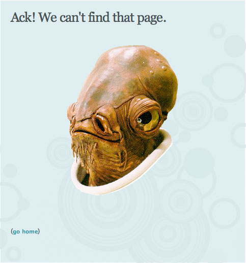 Pownce 404 Page