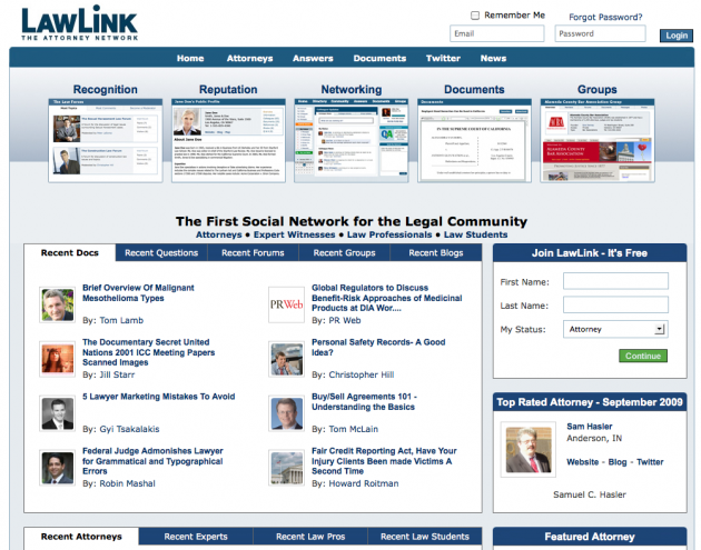 Niche Social Networks - LawLink