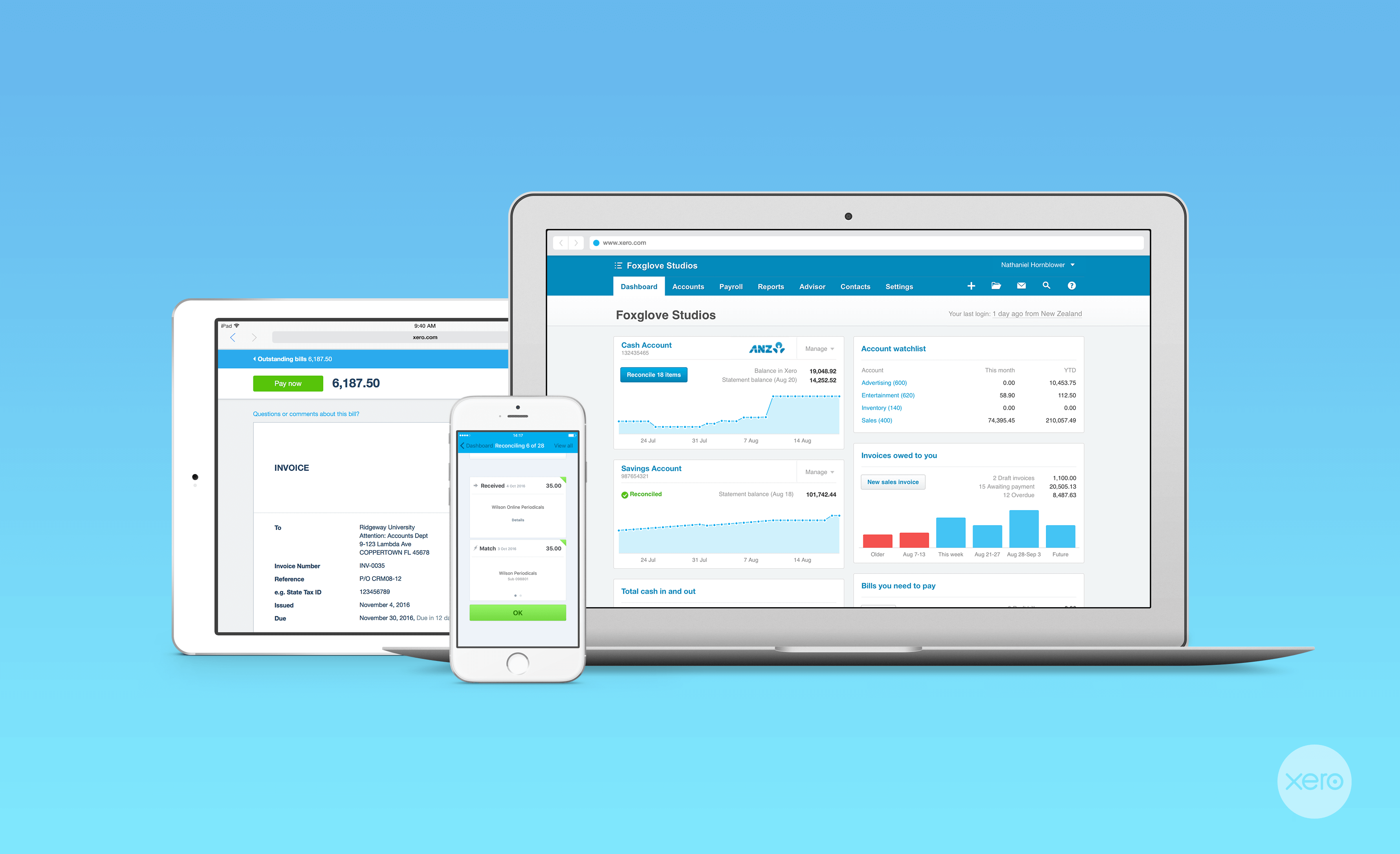 Xero - The Easy Choice