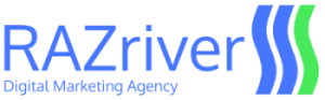 RAZriver Digital Marketing Agency Logo