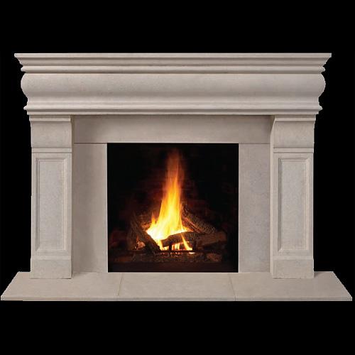 Cast Stone Fireplace Mantel
