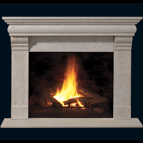 Franklin Builder Series Stone Fireplace Mantel Mantelsdirect Com