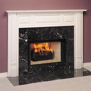 Wood Fireplace Mantel