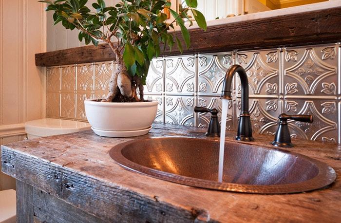 Blog Beautiful Bathrooms With Tin American Tin Ceilings