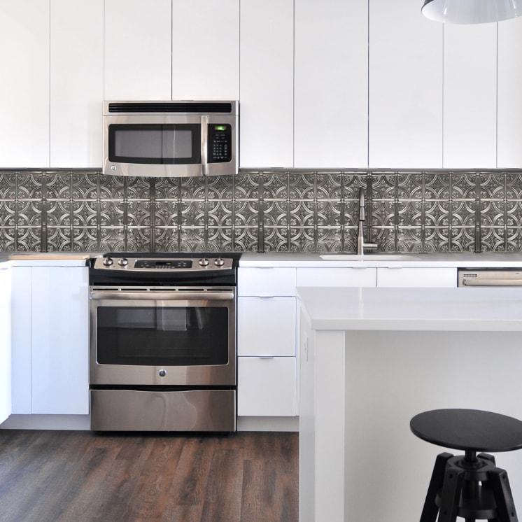 Tin Backsplash Tin Tile Backsplashes American Tin Ceilings