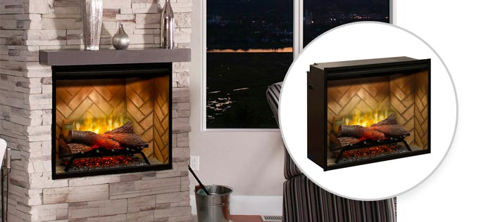 Built In and Plug In Electric Fireboxes