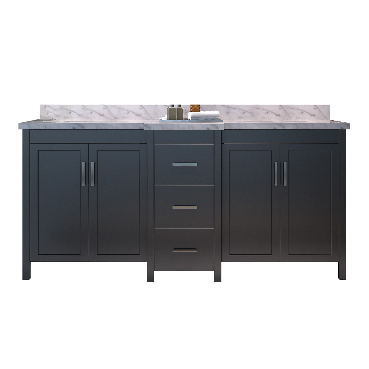 73 hollandale double sink set